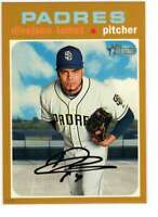 Dinelson Lamet 2020 Topps Heritage 5x7 Gold #176 /10 Padres