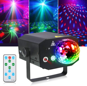Litake Party Lights + Disco Ball 2 in 1 Dj Disco Stage Lights LED Projector with