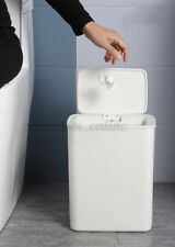 """Gallon Touch-Free Sensor Automatic Stainless-Steel Trash Can Kitchen  """"+ """