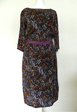 Topshop Viscose Regular Size 3/4 Sleeve Dresses for Women