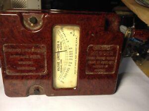 Voltage Limited 250 V.  Bakelite casing