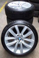 4 BMW Sommerräder Styling 331 BMW 5er F10 F11 6er F06 F12  245/40 R19 275/35 R19