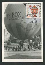 Bulgaria Mk 1969 Aviation Balloon maximum tarjeta Carte maximum card mc cm c9215