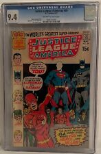 JUSTICE LEAGUE OF AMERICA #89 - CGC 9.4 - YOU ARE THE HERO AND THE VILLAIN