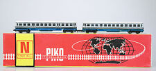 PIKO Spur N 5/0649 Dieseltriebzug VT 4.12, Motorwagen + Beiwagen, DR, Ep.III OVP