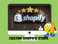 I Will Build A Custom Shopify Dropshipping Store/Website - Ready in 1-2 Days