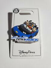 Nwt Disney Test Track Chevrolet Mickey Pluto Donald Duck Pin -Epcot