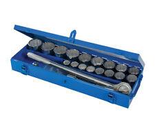 DOUILLES 12 PANS CARRE 3/4 - COFFRET 21 PIECES