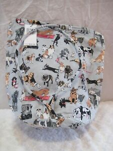 """VERA BRADLEY(NWT/ LIMITED EDIT./""""Best In Show"""" Dog Pattern) Multi-Use DITTY BAG"""