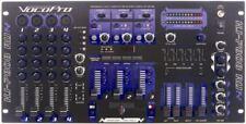 VocoPro KJM7808RV DJ KARAOKE MIXER DIGITAL KEY CONTROL DSP MIC EFFECT