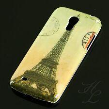 Samsung Galaxy S4 mini i9195 Hard Case Handy Hülle Schutz Etui Schale Eiffelturm
