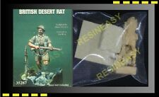 Free Shipping resin soldier Warriors 35287 1/35 British Desert Rat with base