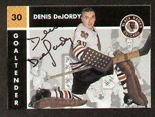Denis DeJordy signed autograph Parkhurst Missing Link