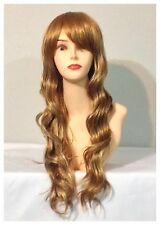 Stylish Long Curly Wigs, Party, Cosplay, Fancy Dress, Honey Blonde 27B613