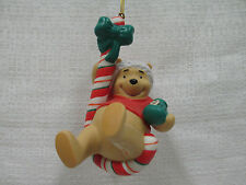 Walt Disney Winnie the Pooh and Friends Swing Into the Holidays Ornament