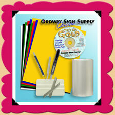 Silhouette CAMEO Vinyl Clipart Fonts & Tools Scrapbook & Posters Die Cutting Kit