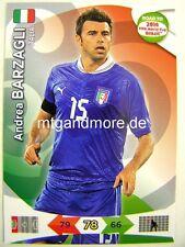 Adrenalyn XL - Andrea Barzagli - Italien - Road to 2014 FIFA World Cup Brazil