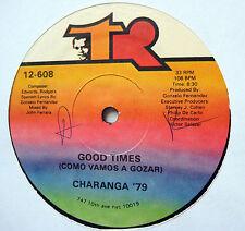 CHARANGA 79 Good Times Como Vamos a Gozar / C/U/B/A is CUBA latin funk 12 TR-608