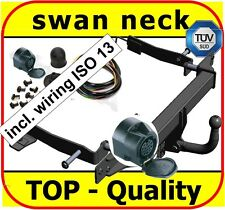 Towbar & Electric 13pin Honda Accord VIII Estate 2003-2008 / swan neck Tow Bar