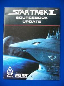 Star Trek III Sourcebook Update - FASA 2214 - Star Trek RPG - VG