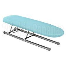 FOLDING PORTABLE MINI SMALL TABLE TOP IRONING BOARD SLEEVES COLLAR CUFF PLEATS