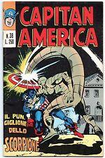 CAPITAN AMERICA  corno  N.38  IL PUNGIGLIONE DELLO SCORPIONE x-men 1974