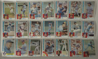 1984 Topps Milwaukee Brewers Team Set of 35 Baseball Cards