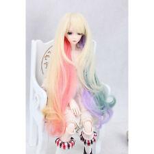 "[wamami] 97# Multicolour Long Wig Fits On 1/3 SD AOD DOD DZ BJD Dollfie 8-9"""