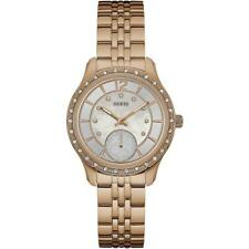 GUESS Womans Whitney Rose Gold Plated W0931L3 Watch