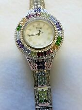 Multi Real Gemstone Swiss Made watch