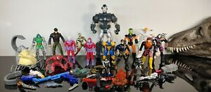 Vintage Marvel Lot of X-Men Action Figures Toy Biz accessories