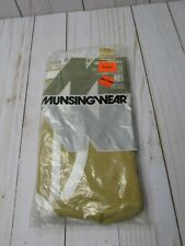 Vintage Men's Munsingwear Undertones Tan Brown White Briefs Large 38 Underwear