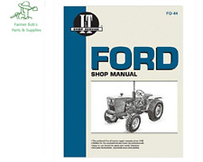 I&T Shop Manual Ford 1100, 1110, 1200, 1210, 1300, 1310, 1500, 1510, 1700 & more