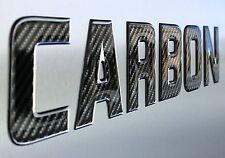 "Domed Lettering & Numbers 3"" Boat & PWC Registration Number 16 Pcs Carbon Fiber"