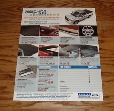 2005 Ford F-150 F-250 F-350 Super Duty Accessories Sales Sheet Brochure 05
