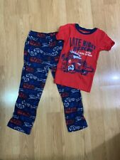 Boys First Responder Pajamas Size 8 By Carters. 2 Piece Set.