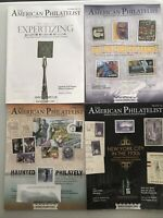 LOT OF 4 THE AMERICAN PHILATELIST STAMP MAGAZINE 2016 MAY SEPT OCT DEC