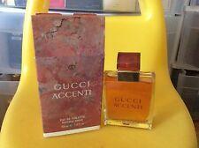 Rare Perfume Classic Gucci Accenti Eau De Toilette 3.4 fl oz 100ml 3.3oz Spray