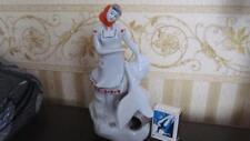 Soviet girl collective farmer Antique USSR russian porcelain figurine 6940c