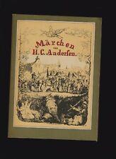 Hans Christian Andersen: Märchen (Kinderbuchverlag Berlin; DDR)