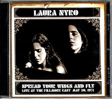 LAURA NYRO spread your wings and fly CD Sony Legacy 2004 live Fillmore 1971 RARE