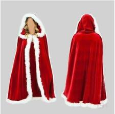 2018 Santa Claus Child Dress Cape Women Merry Christmas Costume Fancy Coat Dress