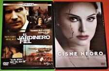 EL JARDINERO FIEL + CISNE NEGRO / THE CONSTANT GARDENER + BLACK SWAN -DVD R2