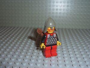 Personnage Minifig LEGO Castle Réf cas163a Set 6086-1: Black Knight's Castle