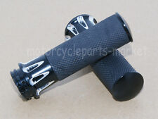 """1""""25mm Edge Cut Handle Bar Hand Grips For Harley Sportster Touring Dyna Softail"""