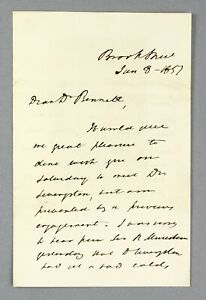 1857   James Clark re: dinner with David Livingstone bad cold says Sir Murchison