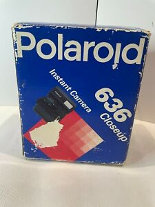 Polaroid 636 Closeup Instant Camera Boxed vintage (not tested)