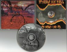 MYSELF AM HELL-The World I Died For EP CD (1999) Indie Death / Thrash Metal