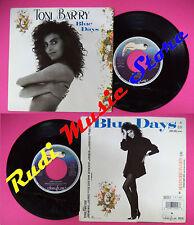 LP 45 7'' TONI BARRY Blue days Heaven here on earth 1988 france no cd mc dvd