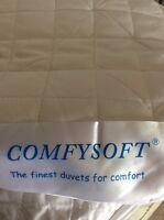 3 Tog 100%  Cotton Filled Summer  Weight Duvet -King Size BEAUTIFUL COOL DUVET
